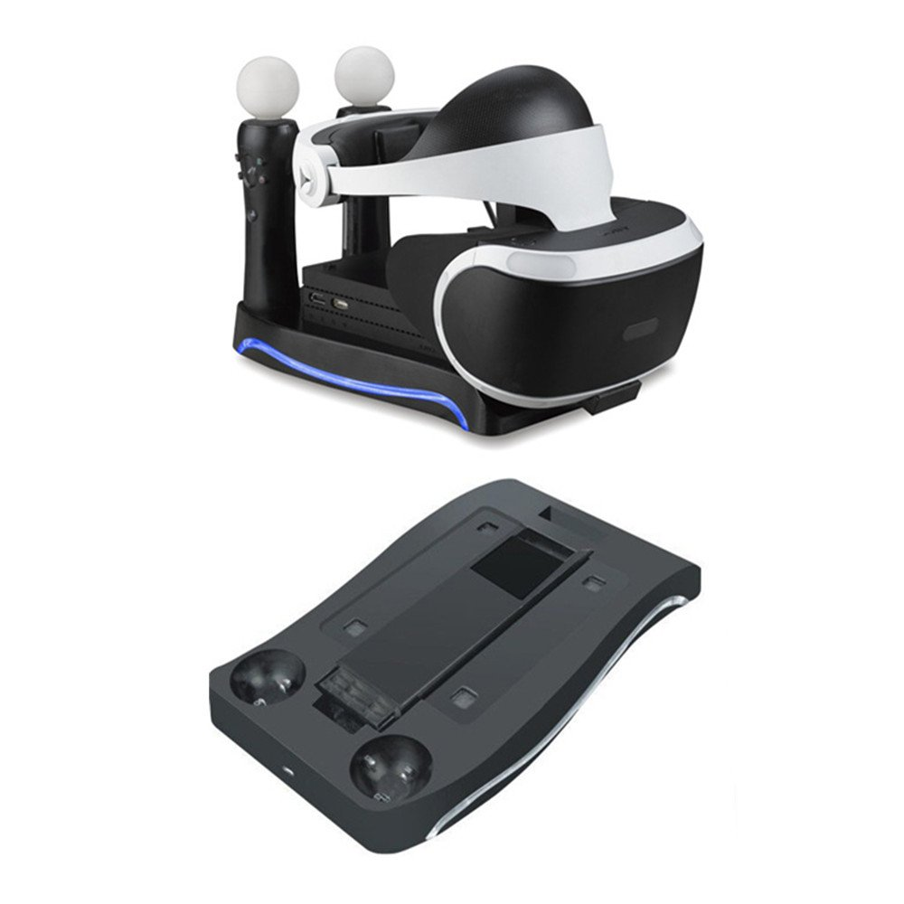 Beracah 4 in 1 Charger Dock Fast Charging Station for PS VR
