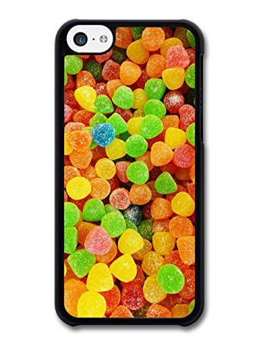 Cool Food Pattern Collage with Candy Sweets Funny Gross Grunge Goth case for iPhone 5C