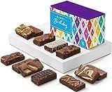 Fairytale Brownies Birthday Sprite Dozen Gourmet Chocolate Food Gift Basket - 3 Inch x 1.5 Inch Snack-Size Brownies - 12 Pieces - Item HB212