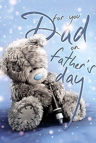 Papa.. Tetty Teddy ME TO YOU Fête des Pères Carte