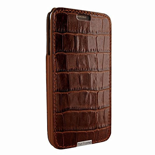 Piel Frama 721 Brown Crocodile iMagnum Leather Case for Samsung Galaxy Note 5 by Piel Frama (Image #1)