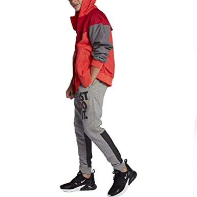 d0da9258d689 Nike B NSW Jogger JDI GFX Boys  Fleece Pants  Amazon.co.uk  Clothing