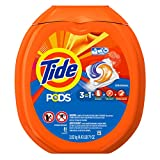 #9: Tide PODS Original Scent HE Turbo Laundry Detergent Pacs 81-load Tub