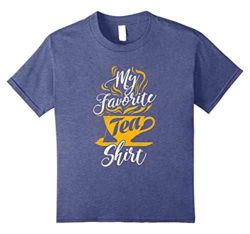 Everyones Favorite Gift Basket (Kids My Favorite Tea Shirt Christmas Gift 10 Heather Blue)
