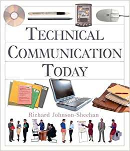 Book Technical Communication Today with Cards by Richard Johnson-Sheehan (2005-03-17)