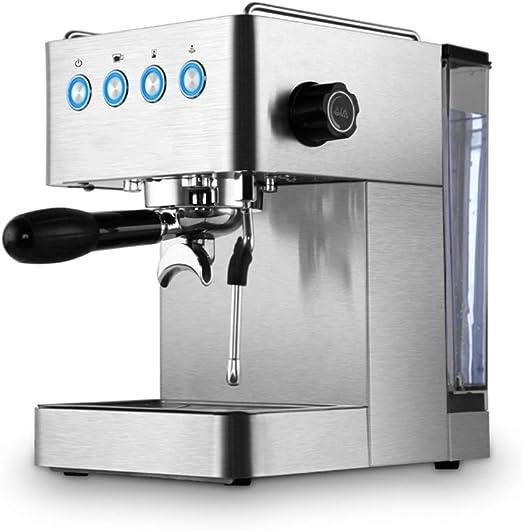 Cafetera doméstica pequeña máquina de café expreso semiautomática ...