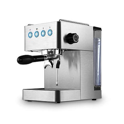 Cafetera doméstica pequeña máquina de café expreso semiautomática máquina espumante de Vapor de Alta presión máquina