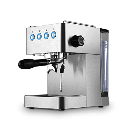 Cafeteras de Espresso automáticas Cafetera doméstica pequeña máquina de café expreso semiautomática máquina espumante de Vapor