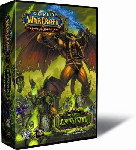 World of Warcraft March of the Legion Starters Juego de cartas (podría no estar en español): Amazon.es: Juguetes y juegos