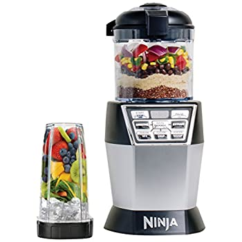Image of Ninja Ninja Nutri Bowl Duo with Auto-iQ Boost (NN102), Black Home and Kitchen