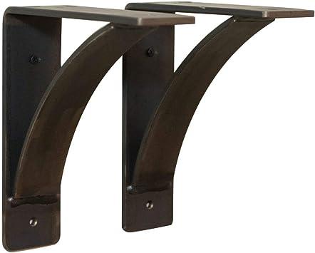 Corbel Metal Shelf Bracket Industrial Fireplace Mantel Support Farmhouse Decor SOLD INDIVIDUALLY Farmhouse Bracket Rustic Mantel