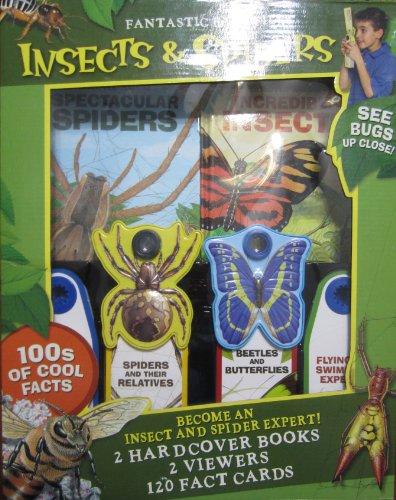 (Reader's Digest: Insects & Spiders: 2 Hardcover Books, 2 Viewers, 120 Fact Cards)