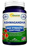 Pure Ashwagandha Supplement - 180 Capsules, Max St...