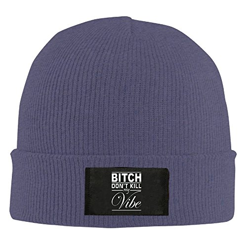 Crochet Bitch Don't Kill My Vibe Beanie Hats