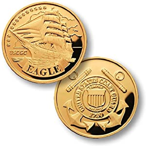 Eagle - USCG MerlinGold from Northwest Territorial Mint