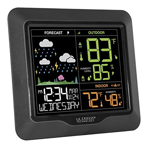 La Crosse Technology S85814 Wireless Color Forecast