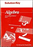img - for Solution Key Algebra Structure and Method Book 1 book / textbook / text book