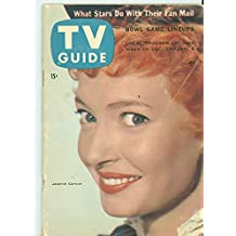1956 TV Guide Dec 29 Jeannie Carson of Hey Jeannie - Colorado Edition NO MAILING LABEL Very Good to Excellent (4 out of 10) Used Cond. by Mickeys Pubs