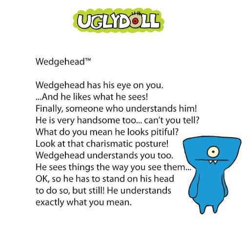 Uglydoll Little Wedgehead 51487