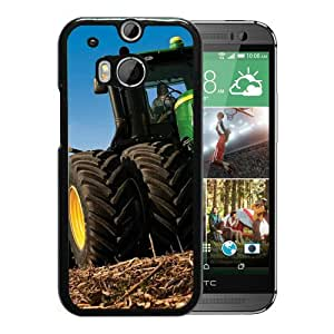 Beautiful Designed Case With john deere Black For HTC ONE M8 Phone Case