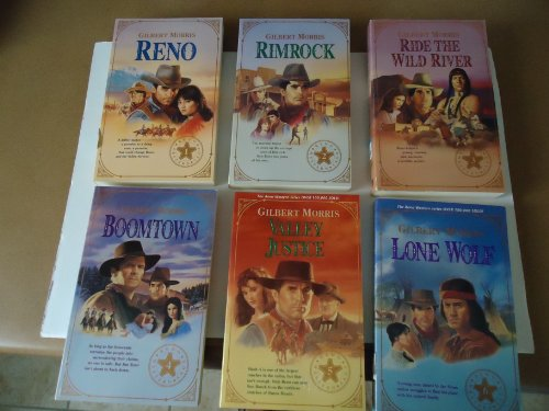 - Reno, Rimrock, Ride the Wild River, Boomtown Valley Justice and Lone Wolf (Reno Western Saga) Book Series (Reno Western Saga, Volume 1 thru 6)