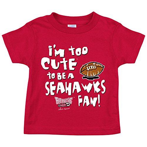 Smack Apparel Arizona Cardinals. Too Cute. Onesie (NB-18M) or Toddler Tee (2T-4T) -