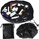 CrazyGadget® Make-Up Makeup Cosmetic Toiletry Bag Case Pouch Purse Organiser with Zipper and Drawstrings