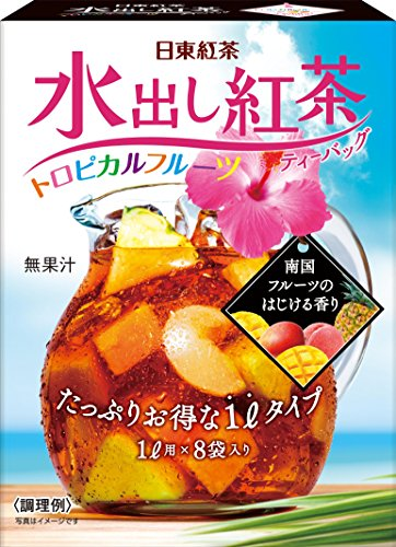 Nitto tea water out tea tropical fruit 8P by Nitto