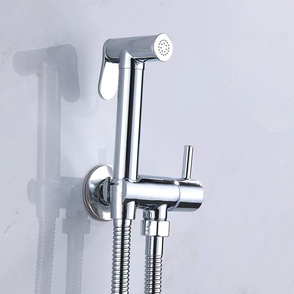 rociador de mano grifo de bid/é de mano de acero inoxidable para ba/ño cabezal de ducha Juego de rociador de bid/é para inodoro de mano autolimpieza