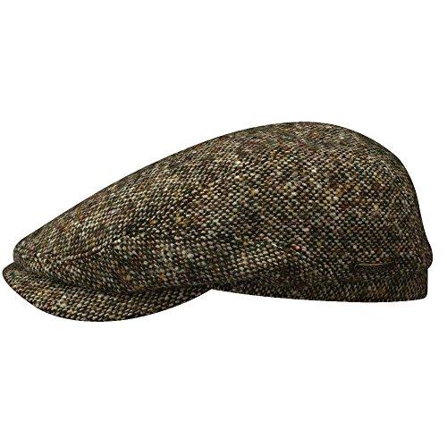 Stetson BELFAST DONEGAL TWEED IVY HAT (XL, BEIGE)