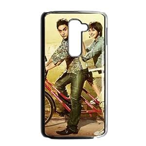 aamir khan anushka sharma in cycle LG G2 Cell Phone Case Black 53Go-176725