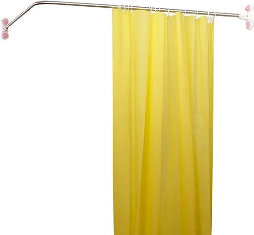 Amazon Com Hershii Curved Corner Shower Curtain Rod Wall Mounted