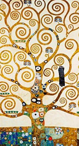 1art1 Gustav Klimt Poster Reproduction - l'arbre De La Vie II (70 x 50 cm):  Amazon.fr: Cuisine & Maison