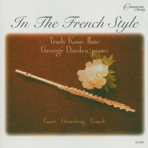 In the French Style Music for Flute & Piano by Faure (2003-08-26)