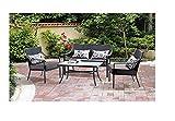 Mainstays Alexandra 3-piece Bistro Outdoor Patio Furniture Set