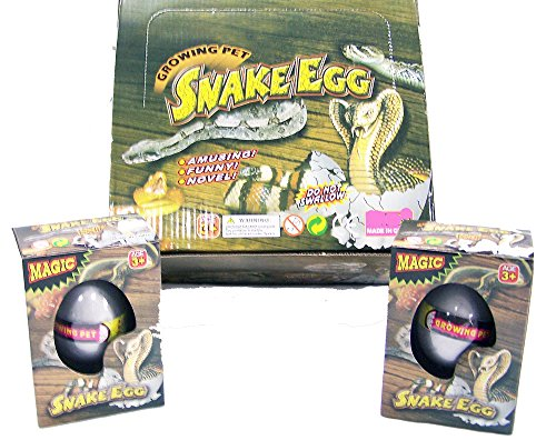 12-pieces-bulk-lot-hatching-and-growing-snake-novelty-magic-reptile-egg
