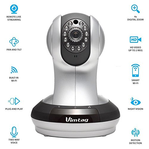 Fujikam FI-361 HD, cloud IP/Network ,Wireless, Video Monitoring, Surveillance, security camera,plug/play, Pan/Tilt with Two-Way Audio and Night Vision