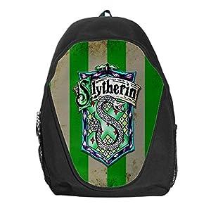 Amazon.com: Slytherin Harry Potter Popular School Backpack Bag ...