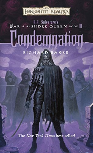 Condemnation (Forgotten Realms: R.A. Salvatore's War of the Spider Queen, Book - Queens Place Market