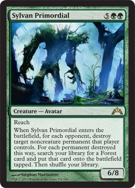Magic: the Gathering - Sylvan Primordial (136) - Gatecrash (Permanent Mtg Destroy Target)