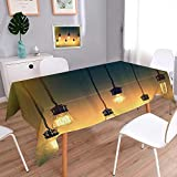 Best Better Homes and Gardens Table Lamps - Decorative Jacquard Rectangle Tablecloth Retro Style Lighting Lamps Review