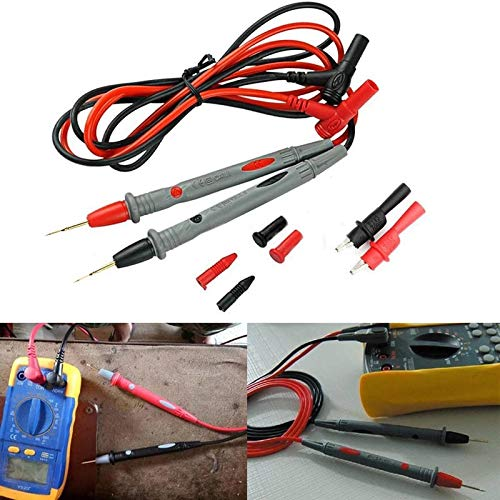 1000V 20A Needle Tip Probe Test Leads with Alligator Clips Clamp Cable  Practical Multi Meter Test Pen Cable 110cm