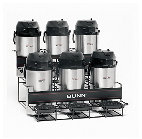 BUNN Universal Airpot Rack for 6 Airpots