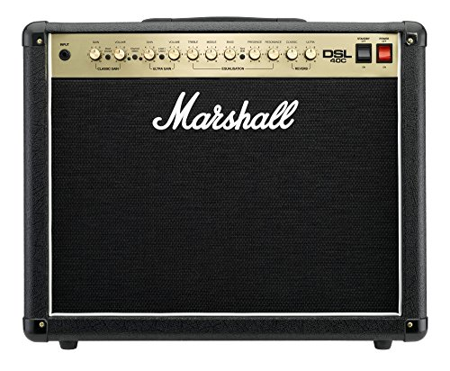 Marshall DSL40C 40W 1x12 Tube Guitar Combo Amp Black