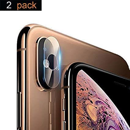 online store 6d5c4 353ec iPhone X Camera Lens Protector, iPhone X Camera Screen Protector 2 Pack 9H  Hardness Anti-Scratch Explosion-proof Tempered Glass Protective Camera Lens  ...
