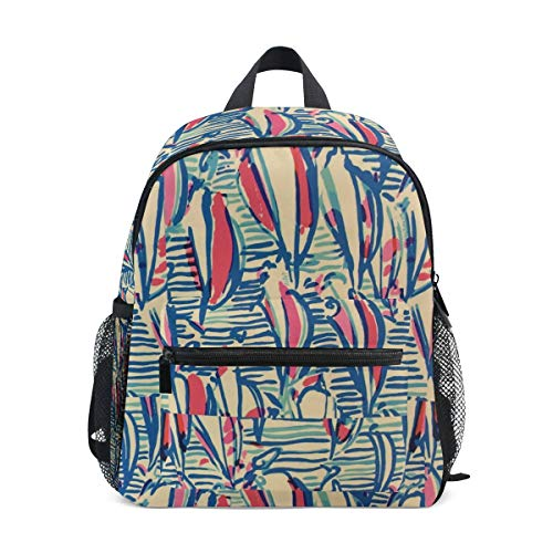 Kids Backpack Lilly Pulitzer Sailboat School Backpacks Cool Bag Campus Daypack Gift