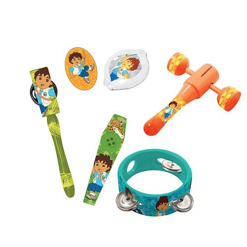 Nickelodeon Go Diego Go 6 Piece Percussion Pack by First (First Act-percussion Pack)