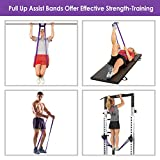 INTEY Pull up Assist Band Exercise Resistance Bands for Workout Body Stretch Powerlifting Single Band, Purple