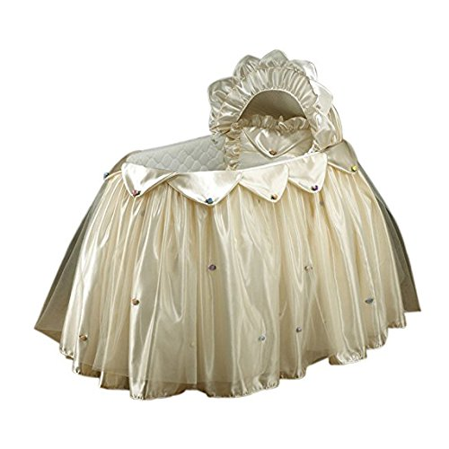BabyDoll Creme Dream Bassinet Set by BabyDoll