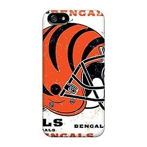 Apple Iphone 5/5s KTo328fCzH Custom Stylish Cincinnati Bengals Pictures Shockproof Hard Cell-phone Case -DeanHubley